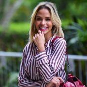 Carol Dias se surpreende com evolução do barrigão de gravidez: '9 meses?'
