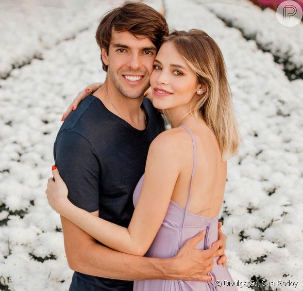 Mulher de Kaká, Carol Dias planeja nascimento da filha
