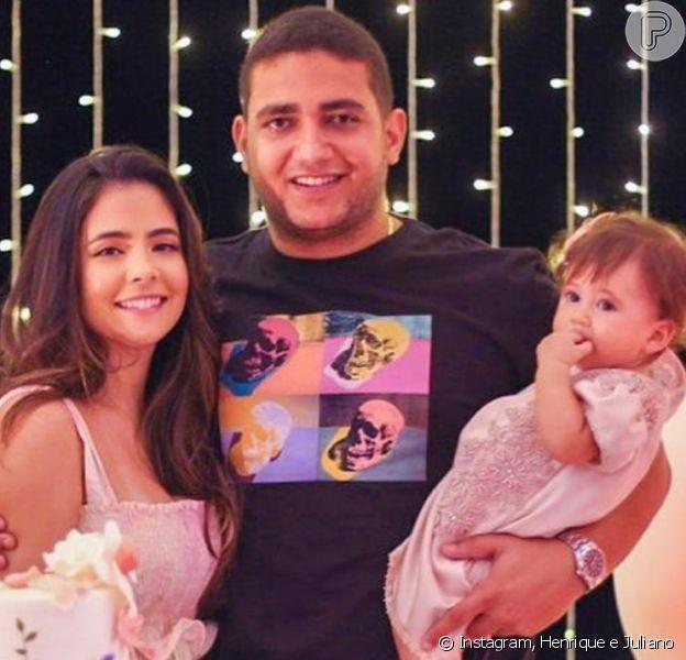 Juliano, da dupla com Henrique, posta foto rara com a família
