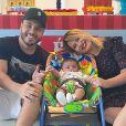 Marília Mendonça e Murilo Huff são pais do pequeno Léo