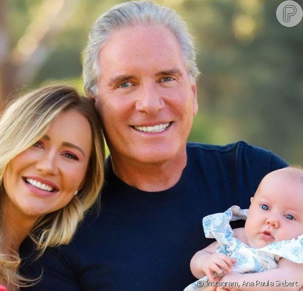Roberto Justus provoca Ana Paula Siebert sobre excesso de cuidados com a filha