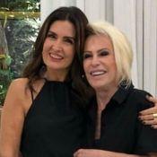 Ana Maria Braga afasta rumor de rixa com Fátima Bernardes: 'Amo você'. Entenda!