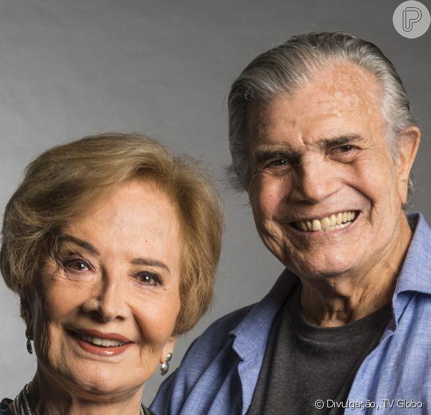 Globo dispensou Tarcísio Meira e Gloria Menezes após 53 anos