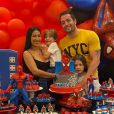 Simaria comemora 5 anos do filho, Pawel, com festa, em 12 de setembro de 2020