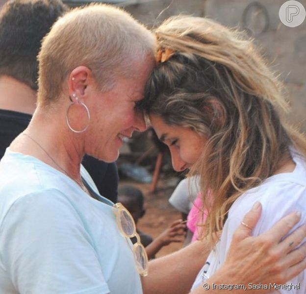 Sasha Meneghel falou sobre o sonho de Xuxa de se tornar avó