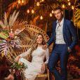 Lucas Lucco e Lorena Carvalho estão oficialmente casados