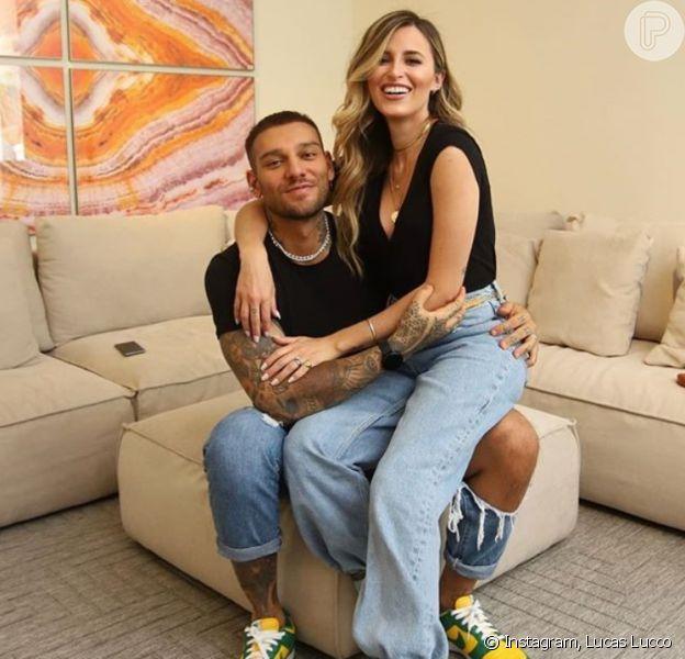 A família de Lucas Lucco e Lorena Carvalho vai aumentar