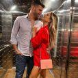 Flávia Viana e Marcelo Zangrandi se tornaram pais de Gabriel