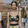 Semana de Moda de Milão: mix de estampas ganha proposta radical na Dolce & Gabbana