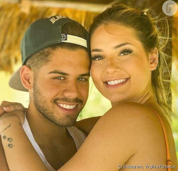 Namorada de Zé Felipe, Virgínia Fonseca está grávida