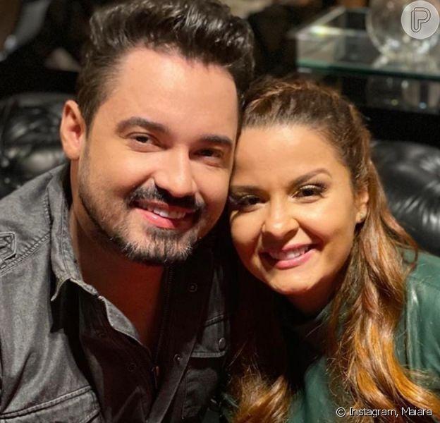Foto de Maiara e Fernando Zor juntos agita web