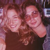 Sasha Meneghel e João Figueiredo aproveitam jantar romântico em rooftop de SP
