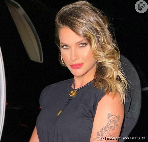 Andressa Suita ganha carinho de famosas após pedido de separação de Gusttavo Lima