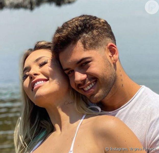 Virginia Fonseca e Zé Felipe se emocionaram ao ouvirem coração do bebê bater