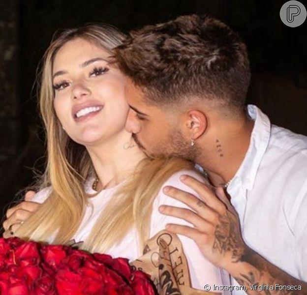 Noivos! Virginia Fonseca foi pedida em casamento por Zé Felipe em 5 de novembnro de 2020
