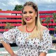 Marília Mendonça aposta em look romântico para show, em 07 de novembro de 2020