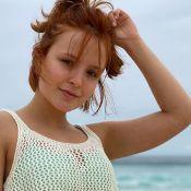 De biquíni, Larissa Manoela joga vôlei na praia e corpo impressiona: 'Que bumbum'