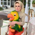 Ana Maria Braga segurou o boneco do Louro José após a morte de Tom Veiga