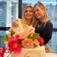 Poliana Rocha fez pequena celebração de aniversário no Edificio Executive Tower, em Goiânia