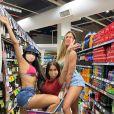 Flayslane, Bianca Andrade e Mari Gonzalez ficaram muito amigas no 'BBB20'