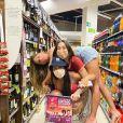 Flayslane, Bianca Andrade e Mari Gonzalez se divertiram juntas em viagem