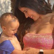 Grávida de 6 meses, Camilla Camargo nota filha mexer em barriga: 'Conseguiram ver?'