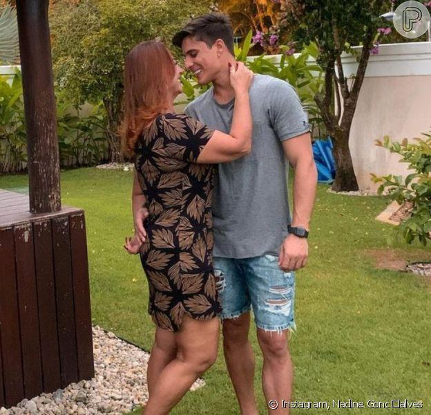 Mãe de Neymar, Nadine Gonçalves ensaio reconciliação com Tiago Ramos