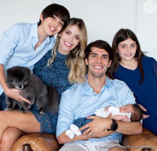 Mulher de Kaká, Carol Dias fala sobre relação dos três filhos do ex-atleta. Confira!