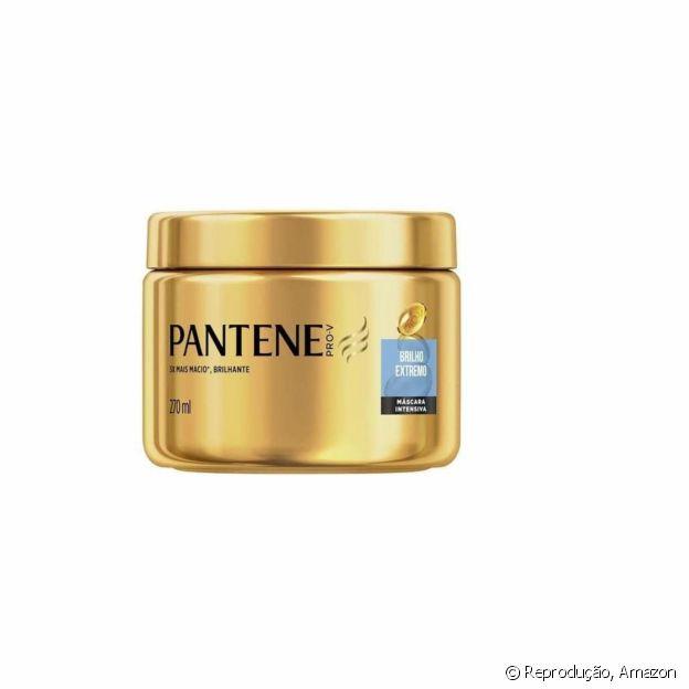 A máscara Brilho Extremo de Pantene recuperar a vitalidade dos cabelos