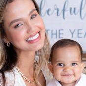 Filho de Biah Rodrigues rouba a cena em foto com a mãe: 'Mini Sorocaba'