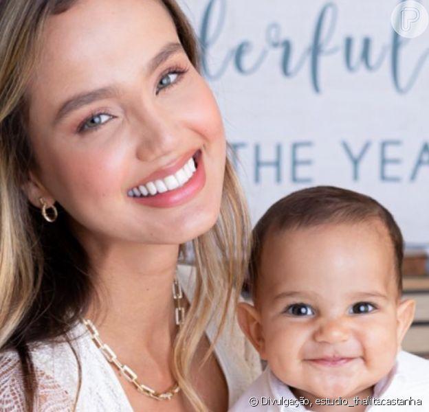 Biah Rodrigues posta foto com filho e web nota semelhança com Sorocaba