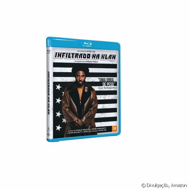 Blu-Ray do filme Infiltrado na Klan
