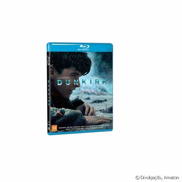 Blu-Ray do filme Dunkirk