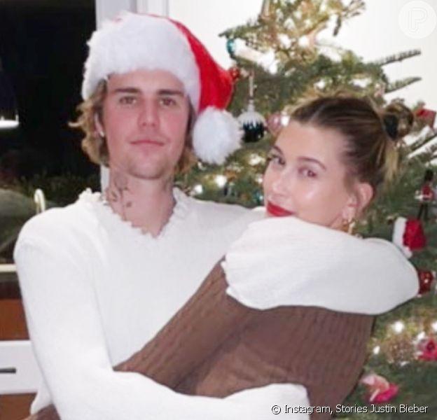 Justin Bieber e a mulher, Hailey, preparam jantar brasileiro no Natal 2020