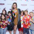 Fernanda Lima comemora Natal com Rodrigo Hilbert em foto com filhos