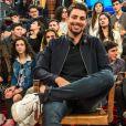 Cauã Reymond se prepara para uma estreia como diretor em uma série da Globo
