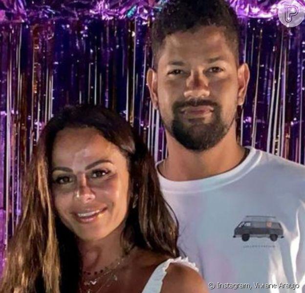 Viviane Araujo revelou noivado com o empresário Guilherme Militão