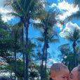 Mulher de Sorocaba, Biah Rodrigues compartilha momentos com Theo nas redes sociais