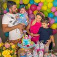 Zé Neto e Natália Toscano também são pais de José Filho, de 3 anos