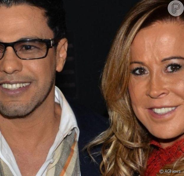 Zilu Godoi exibe foto de casamento com Zezé di Camargo e comenta sobre pensão
