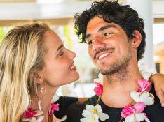 Casados, Yasmin Brunet e Gabriel Medina comemoram 1 ano juntos: 'Que venha o resto da vida'