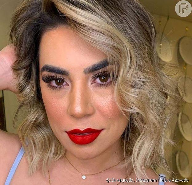 Naiara Azevedo deu dicas de beleza em sua rede social