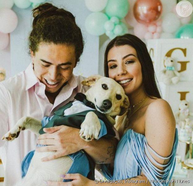 Whindersson Nunes e a noiva, Maria Lina, anunciam sexo do primeiro filho, em 6 de março de 2021