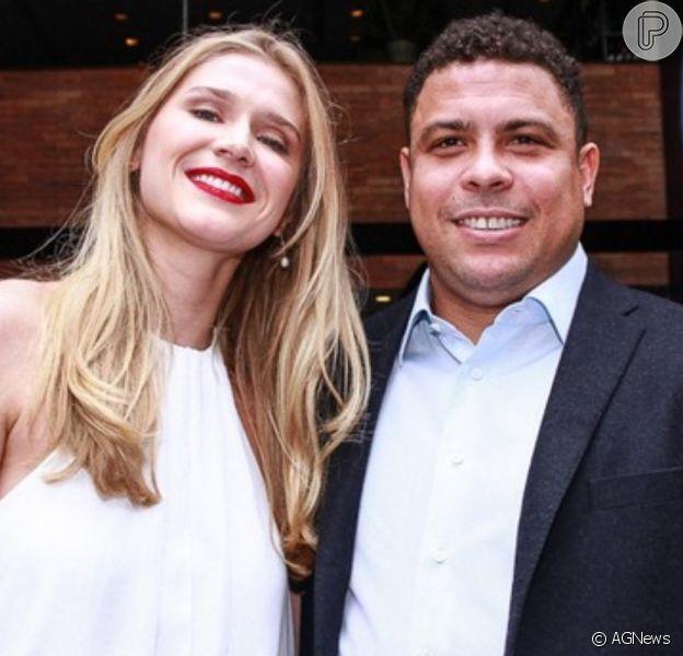 Celina Locks pode estar grávida do primeiro filho em relação com Ronaldo Fenômeno