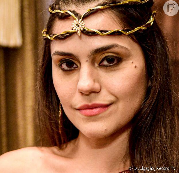 Na novela 'Gênesis', Jéssika Alves é Shakia; atriz sai em defesa de sua personagem: 'Consigo entender a sua revolta'