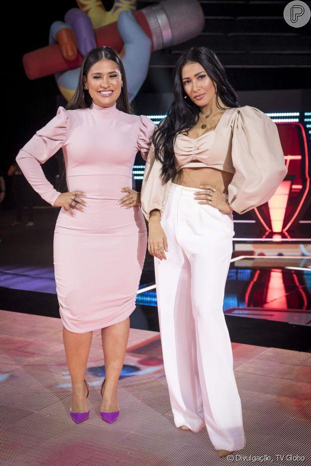 Simone e Simaria não estão mais no 'The Voice Kids'