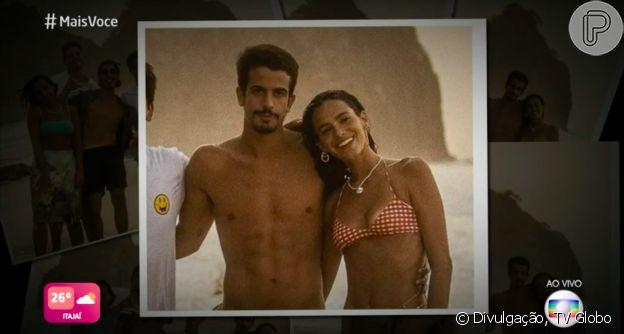 Relacionamento de Bruna Marquezine e Enzo Celulari vira assunto no 'Mais Você'