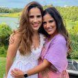 Camilla Camargo com a irmã, Wanessa