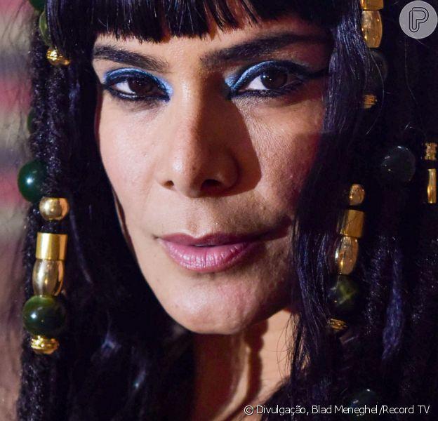 Novela 'Gênesis': Bianka Fernandes define sua rainha Aat: 'Manipuladora e territorialista'