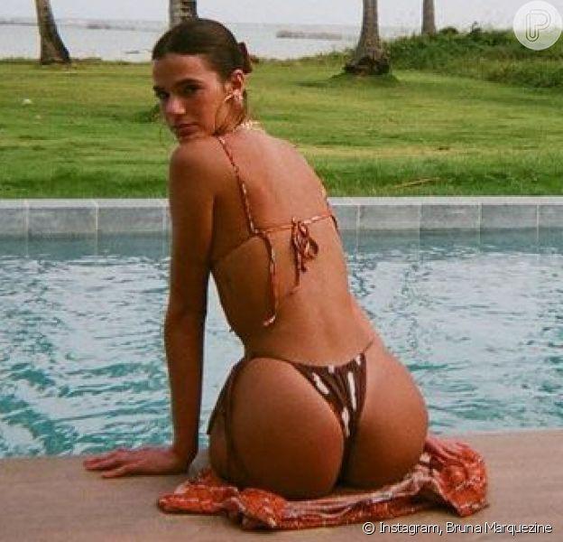Bruna Marquezine rouba a cena com foto de biquíni no Instagram